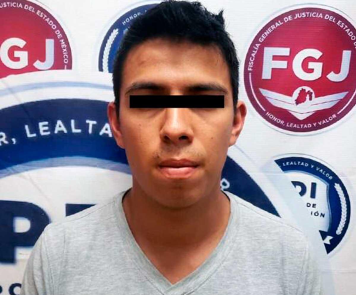 Aprehende FGJEM a sujeto investigado por un homicidio en Tonatico
