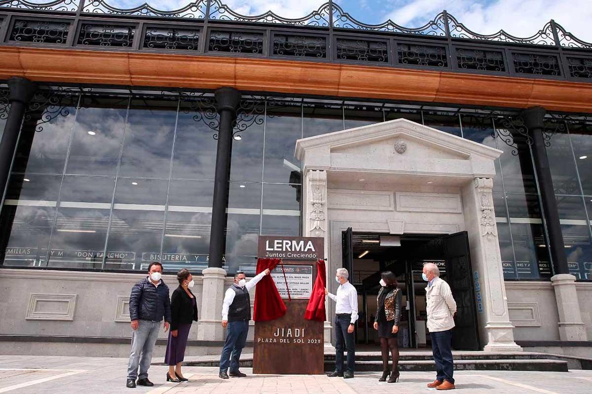 Inauguración del Mercado Municipal de Lerma