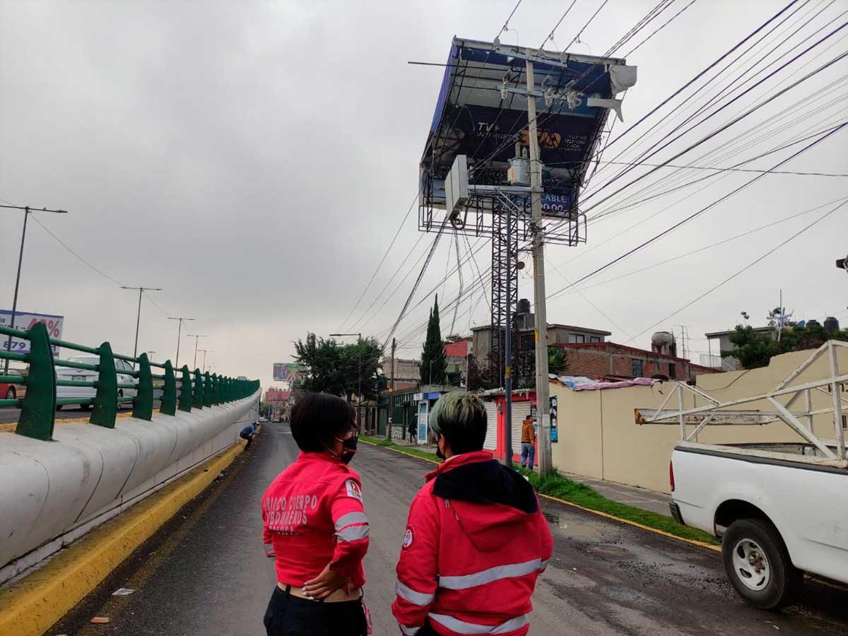 Protección Civil y Bomberos atienden emergencias