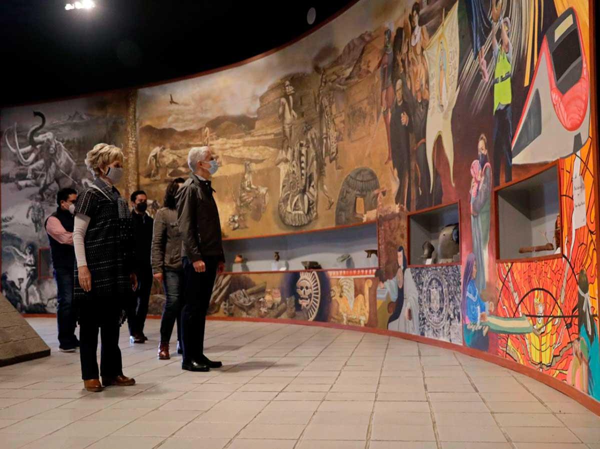 Alfredo del Mazo entrega modernización Museo