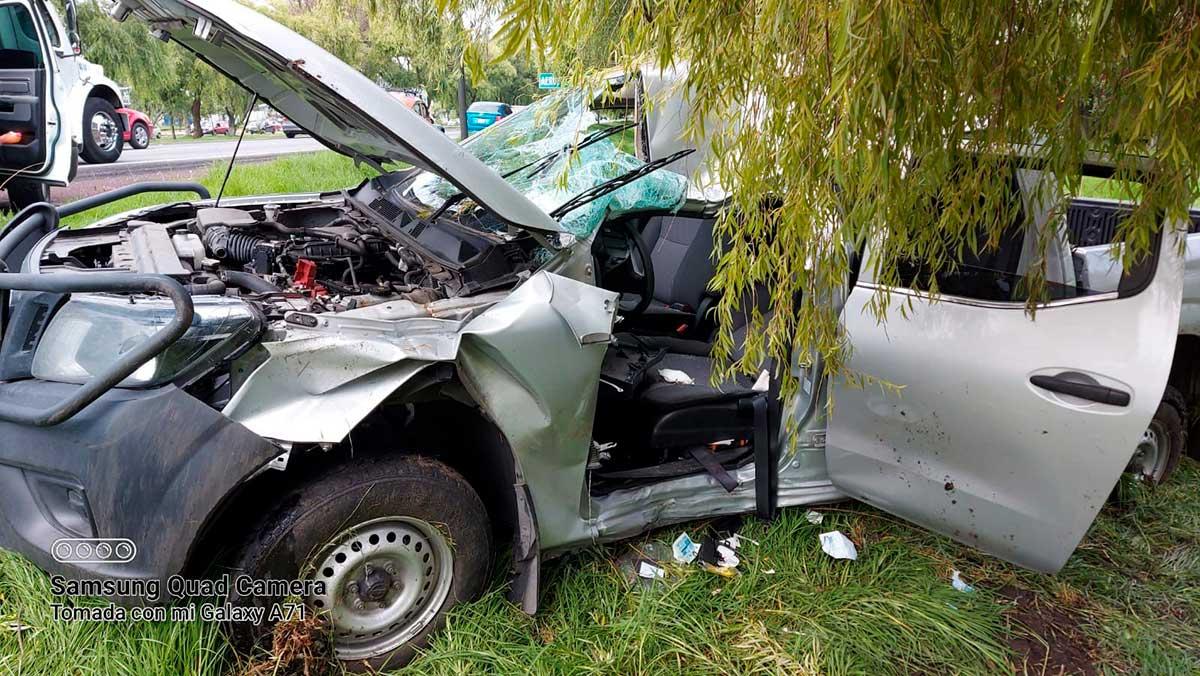 Cruz Roja Delegación Metepec atiende accidente