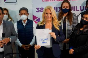 Romina Contreras primera presidenta municipal de Huixquilucan