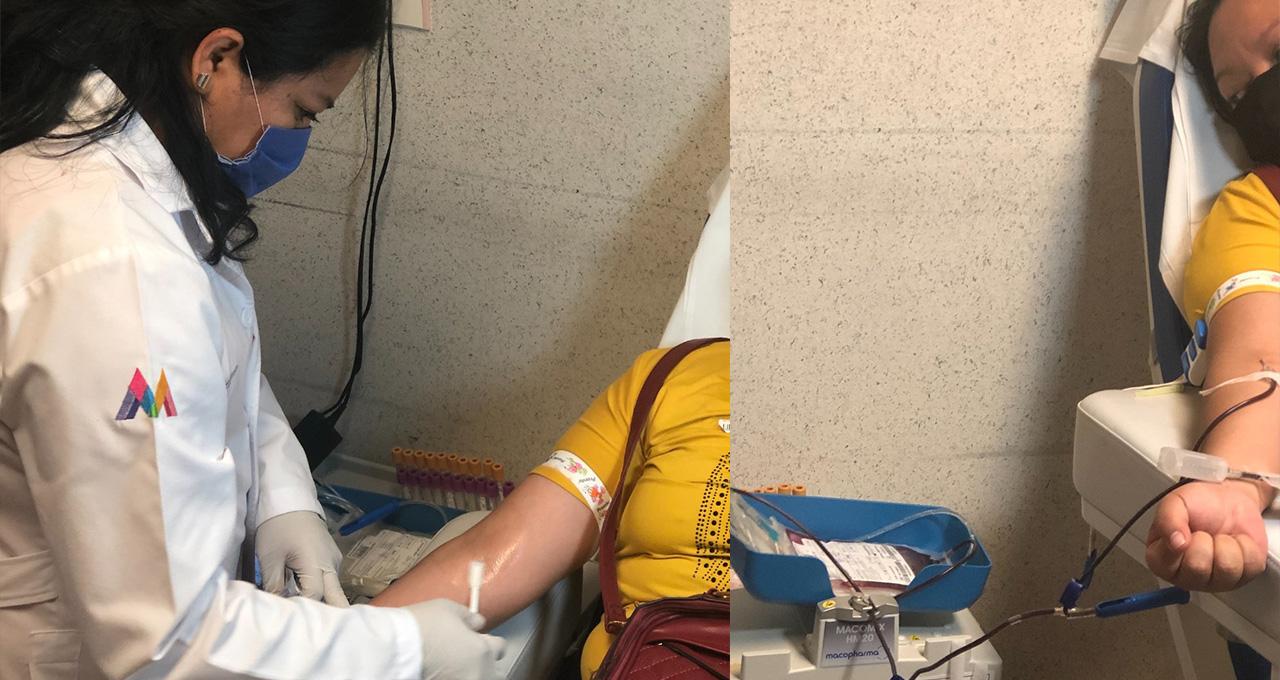 Edomex donación de sangre