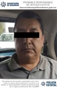 Detenido en el Valle de Toluca