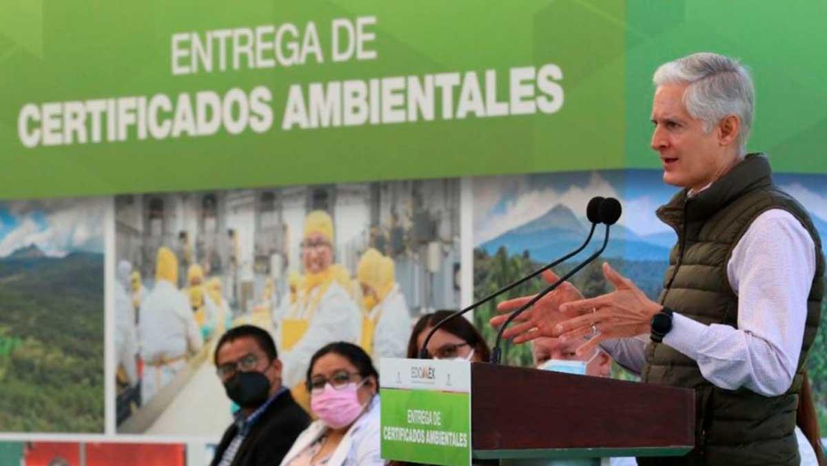 Gobernador del EdoMéx reconoce a hospitales y empresas socialmente responsables