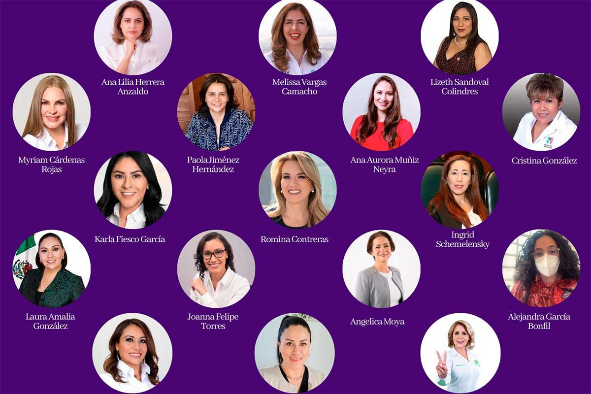 Se consolidan 50+1 y la agenda de género en el Estado de México