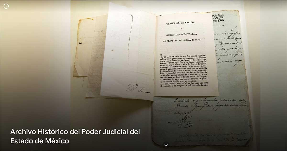 Pieza histórica del Poder Judicial se exhibe en Google Arts & Culture