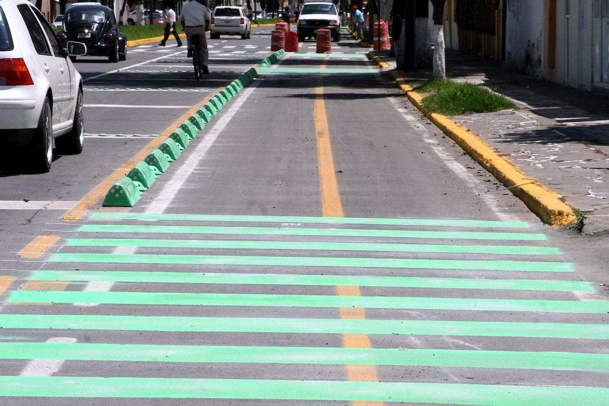 Ciclovía en Toluca