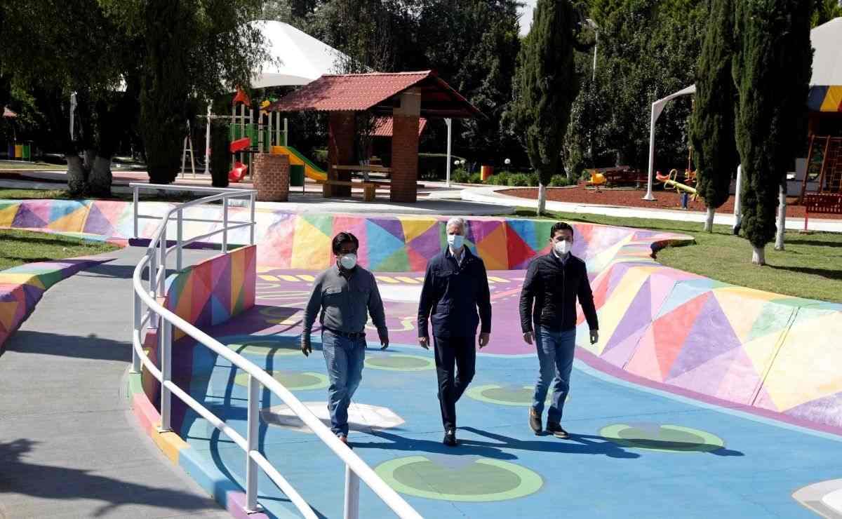 Modernizamos el Parque Las Ranas, convirtiéndolo en un gran espacio de convivencia y esparcimiento para las familias de San Antonio la Isla