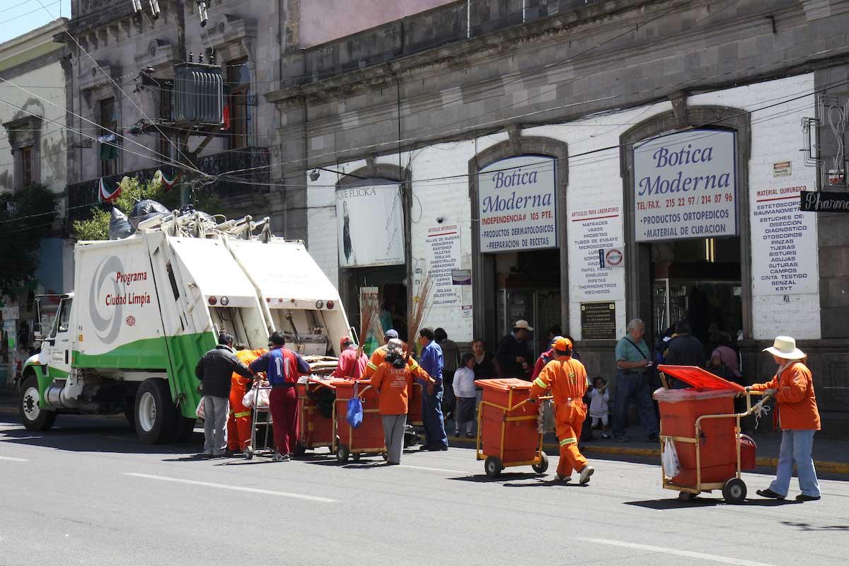 Negocios de Toluca deberán pre-registrarse para la recolección de residuos