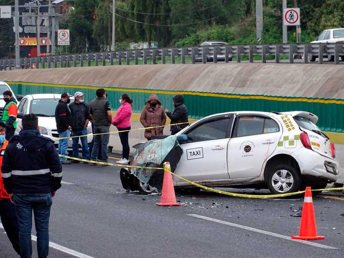Accidente Ocoyoacac