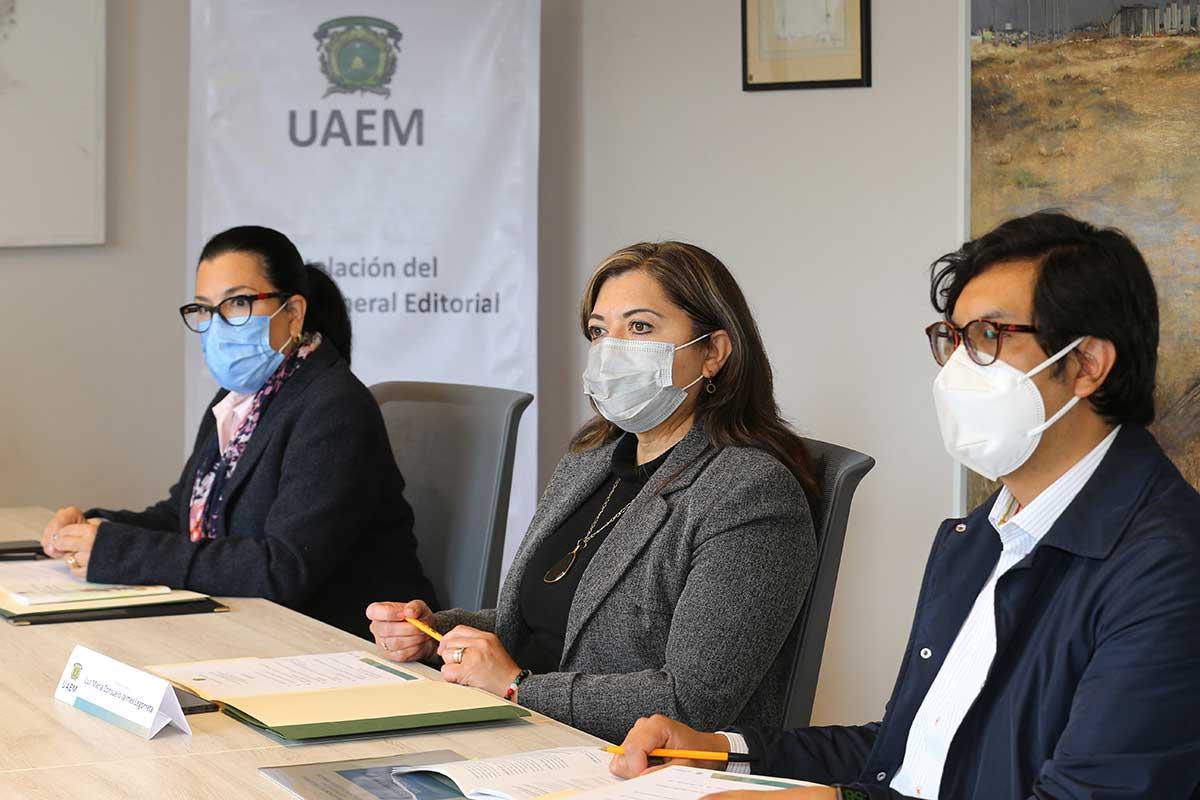 Sesión Ordinaria Consejo General Editorial de la UAEM