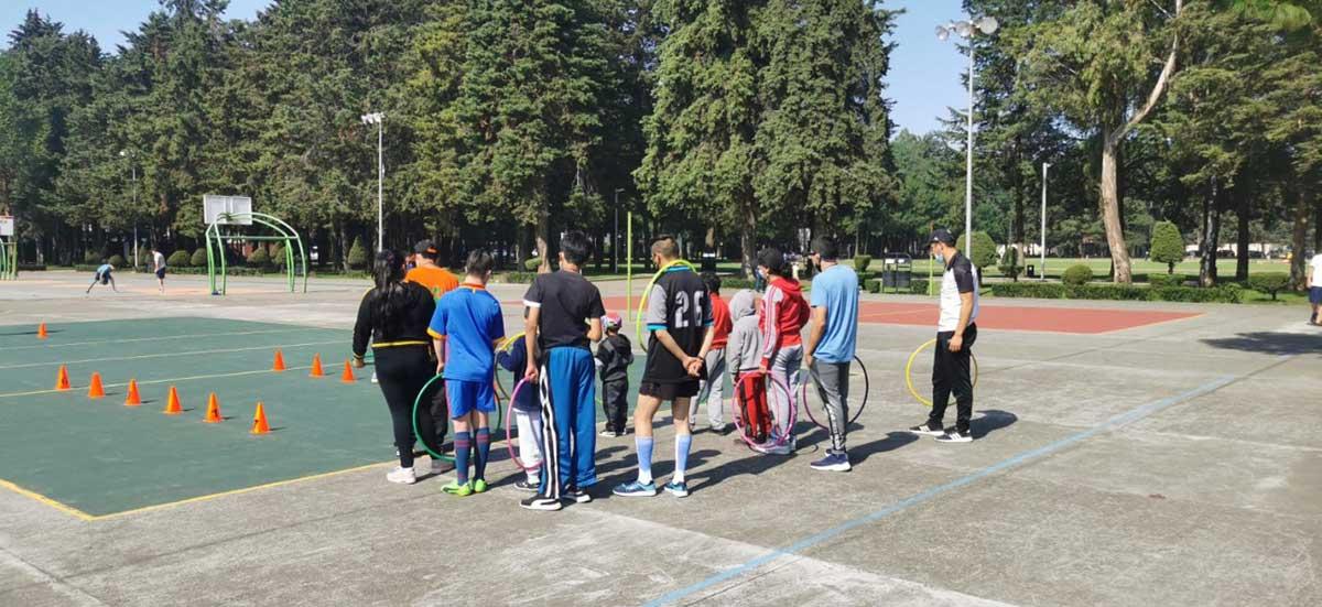 """Inicia curso de verano """"Aventura Adaptada"""" en el Parque Metropolitano Bicentenario"""