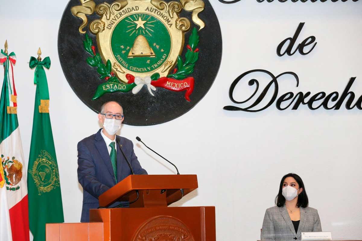 Abogadas y abogados deben asumirse como agentes de cambio social: Carlos Eduardo Barrera