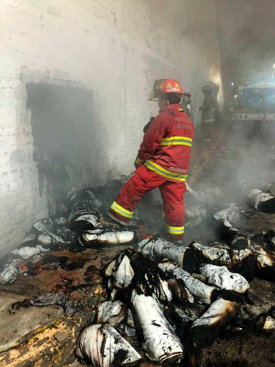 Incendio en Tultitlán