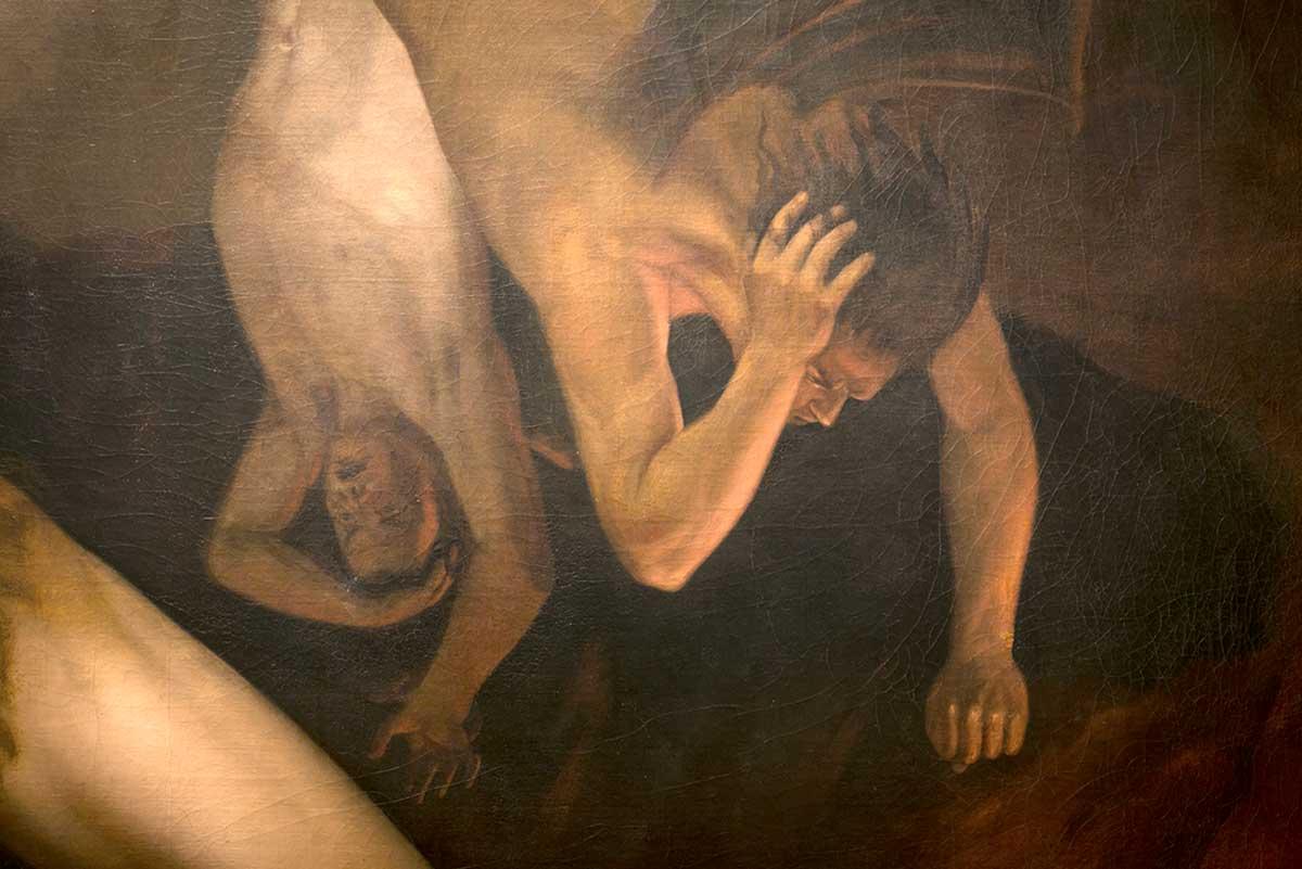 UAEM conserva La caída de los ángeles rebeldes, obra maestra de Felipe Santiago Gutiérrez