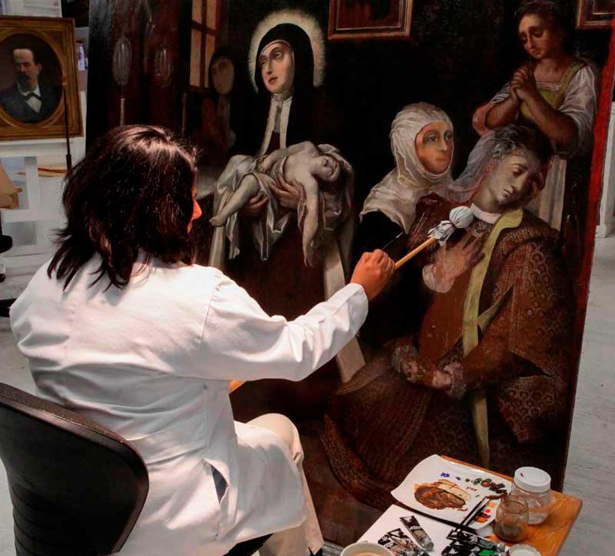 UAEM, comprometida con la preservación y restauración de su acervo histórico