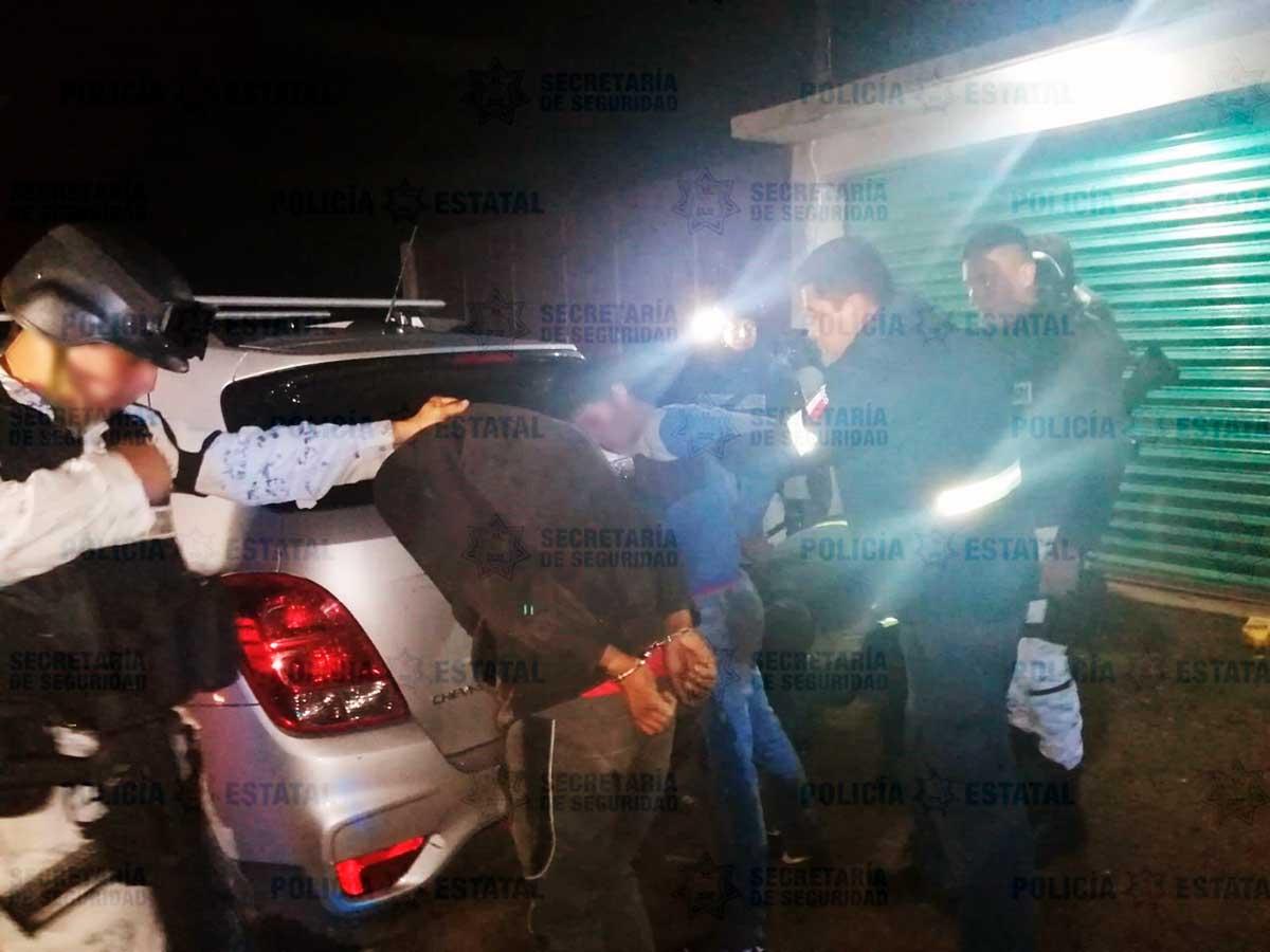Detención Secuestradores Flagrancia Ocuilan