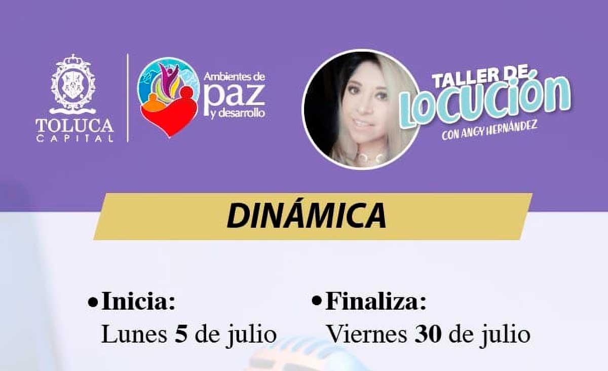 Taller de Locución con Angie Hernández