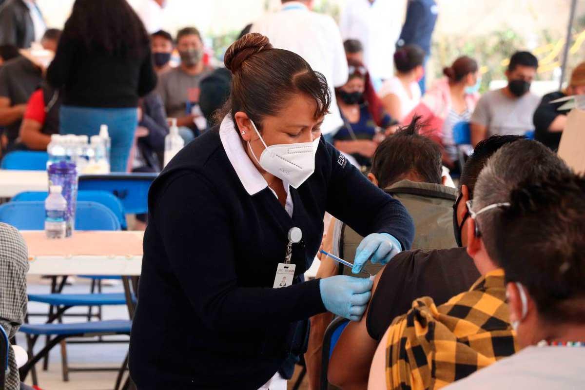 Concluye Jornada de Vacunación para Adultos de 40 a 49 años en Huixquilucan