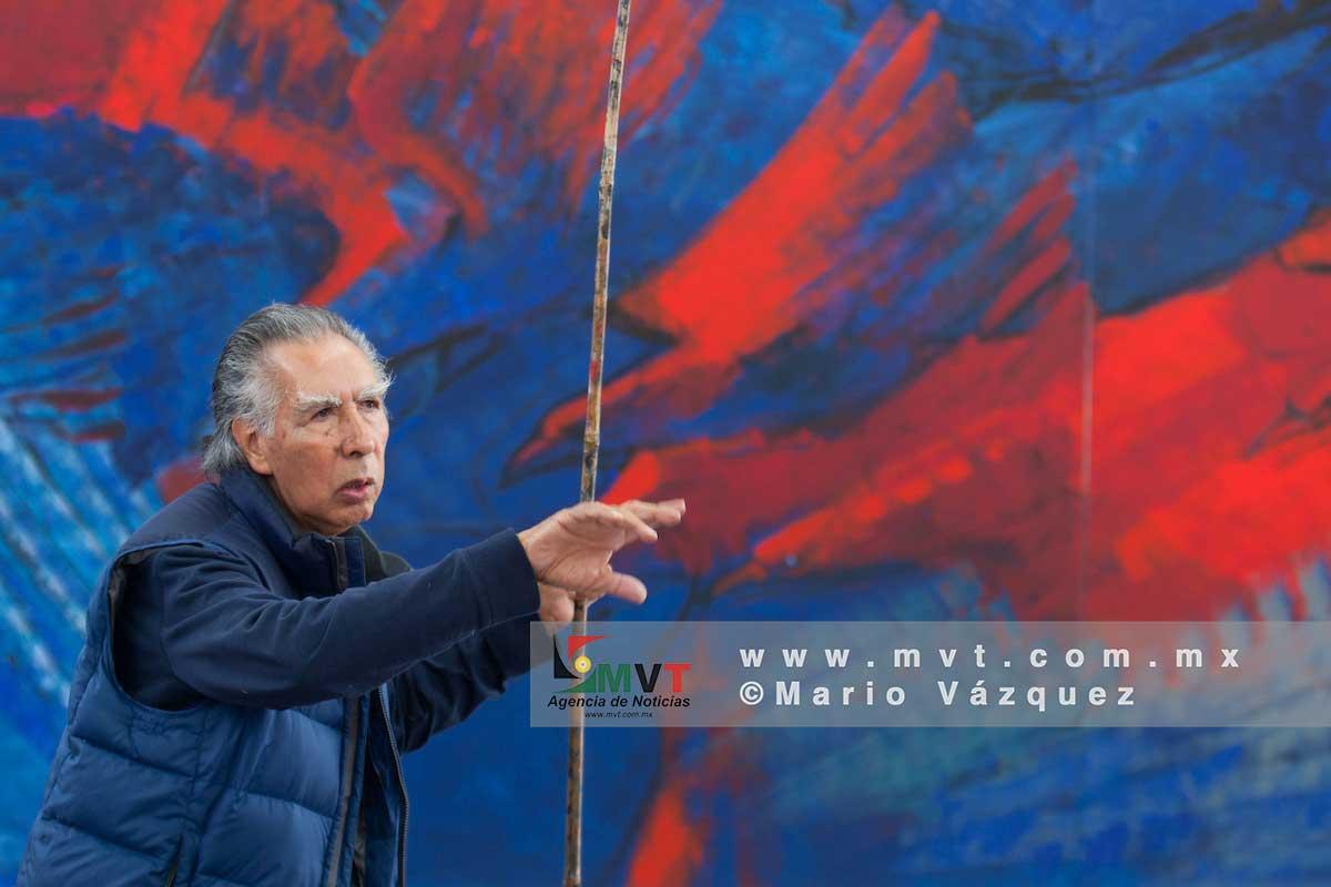 """Documental """"Cenizas para la paz""""en honor al artista Leopoldo Flores"""
