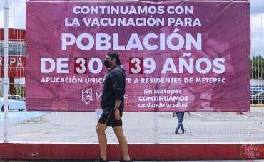 Horarios y sedes de vacunación Toluca.