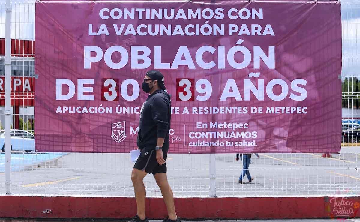 Toluca: Sedes y horarios de vacunación para personas de 30 a 39 años y embarazadas