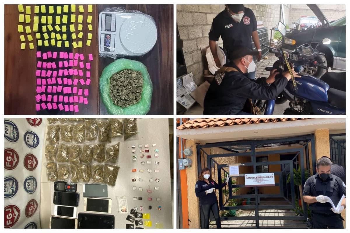 Operativo policiaco deja 33 detenidos en Toluca y Naucalpan