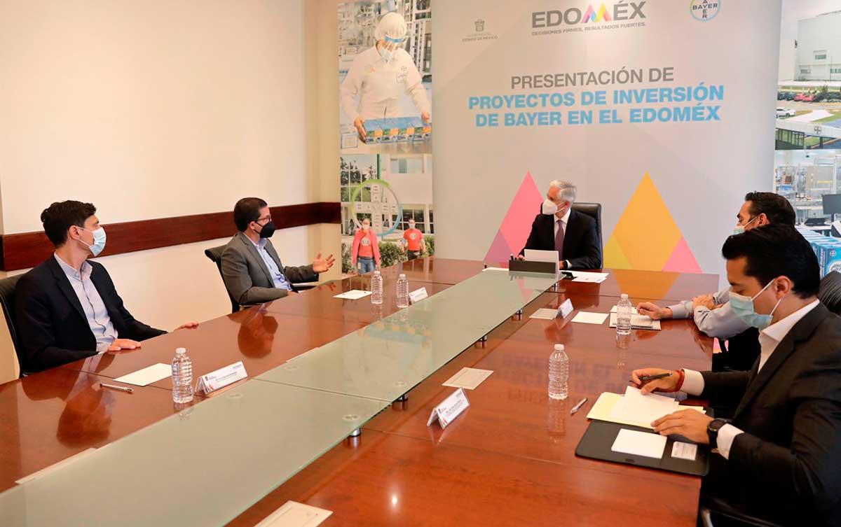 Bayer México anuncia inversión por mil millones de pesos en Planta Lerma
