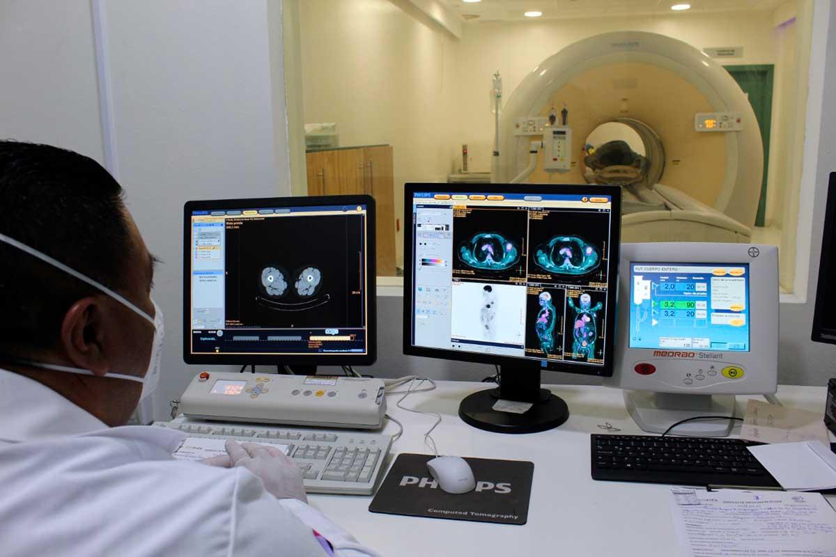 Ofrece Centro Oncológico del ISSEMyM tecnología de última generación para dar atención integral a pacientes