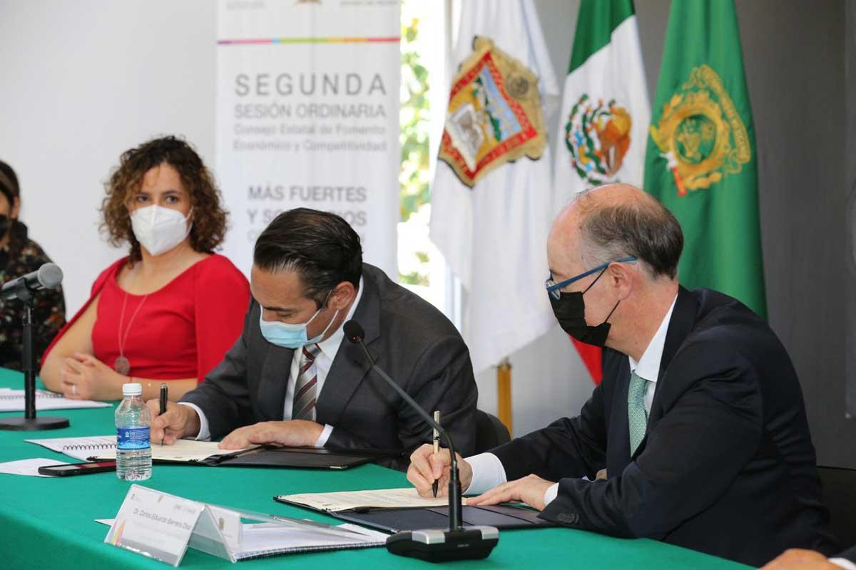 Colaboran UAEM y SEDECO a favor de la competitividad económica del Edomex