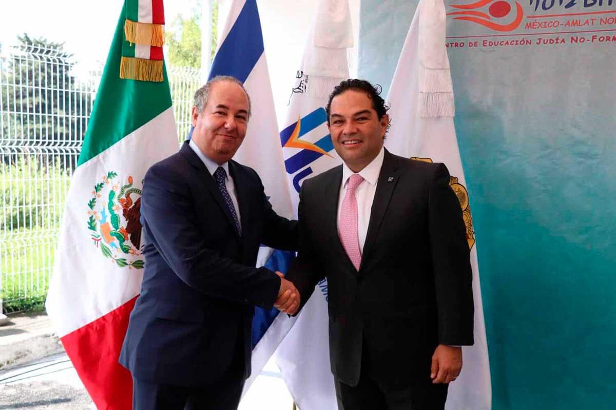 Enrique Vargas verdadero amigo del estado de Israel: Zvi Tal