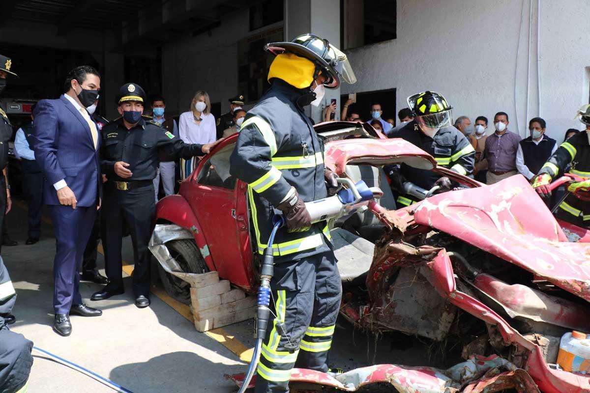 Huixquilucan tiene servicios de emergencia de primer mundo
