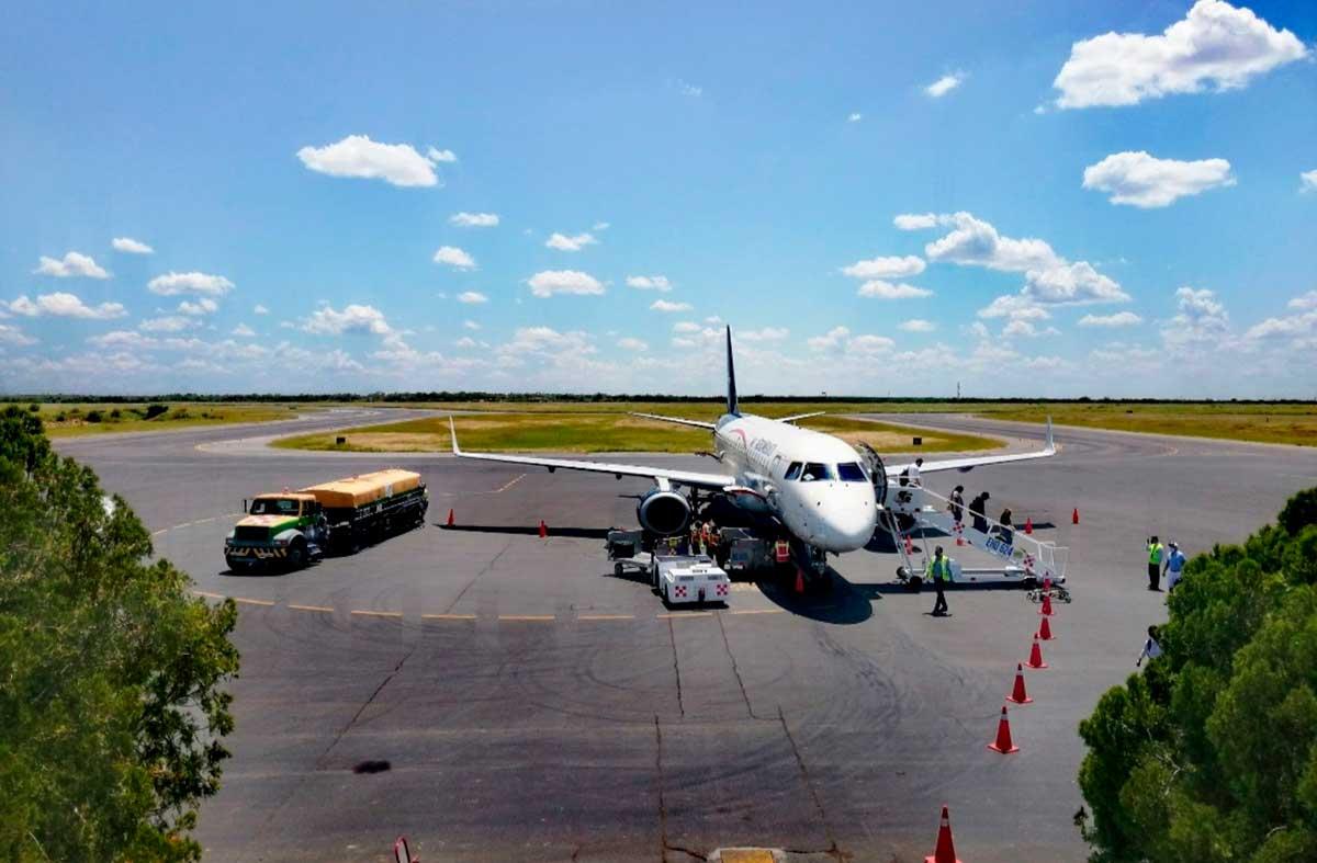 Incrementa Aeropuerto Internacional de Nuevo Laredo el manejo de carga en 112.1% de enero a julio de 2021