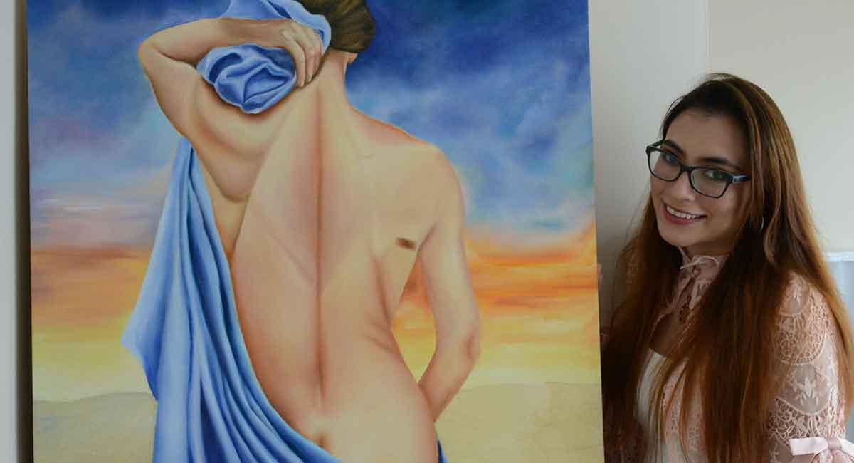 Mi Propio Reflejo, exposición de pintura por Melany Juárez
