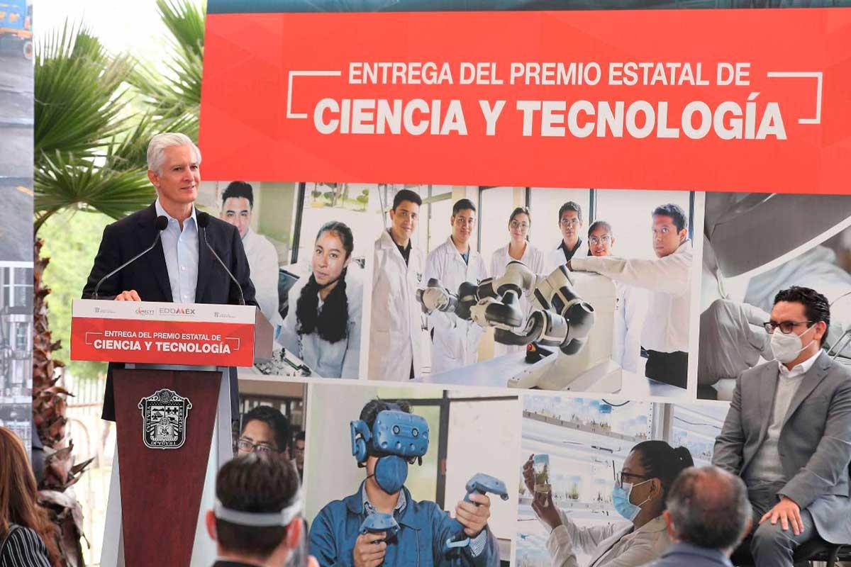 Entrega de Premio Estatal de Ciencia y Tecnología