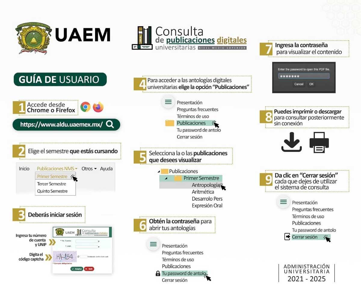 Estudiantes de la UAEM disponen del sistema de publicaciones digitales a partir de este semestre