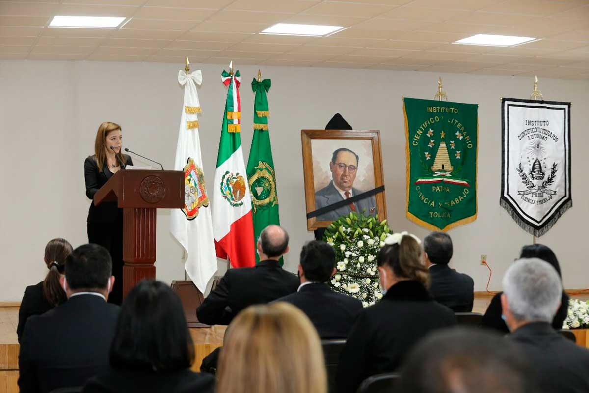 Reconoce UAEM legado de Isidro Fabela a la autonomía universitaria
