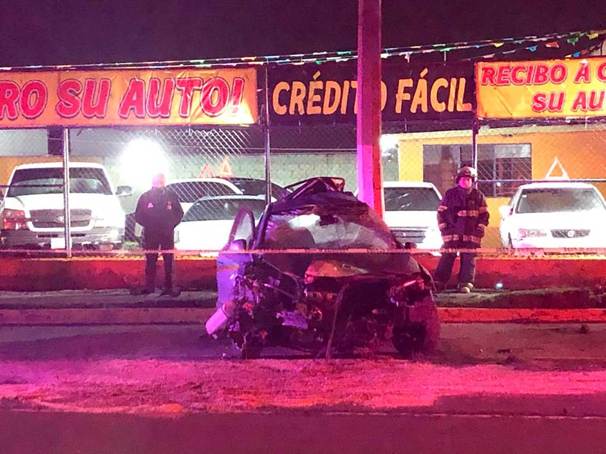 Automovilista muere al accidentarse esta madrugada en Toluca