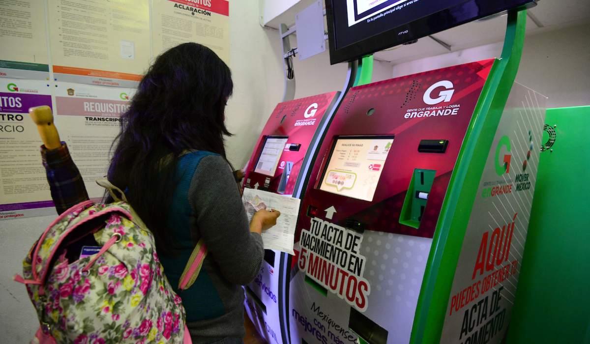 Ubicación y servicios de los cajeros automáticos del registro civil Edomex 2021
