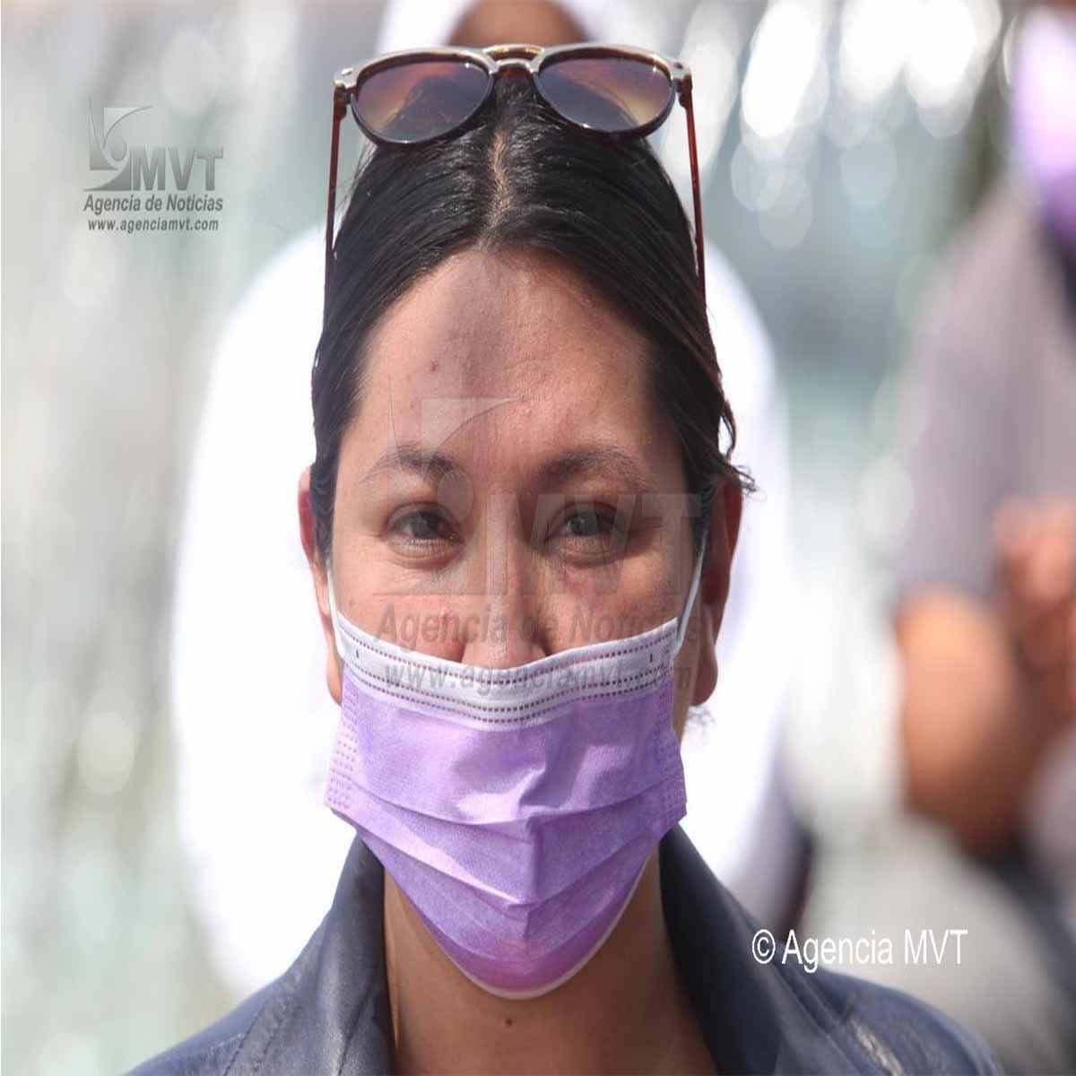 Protesta de comerciantes en Toluca