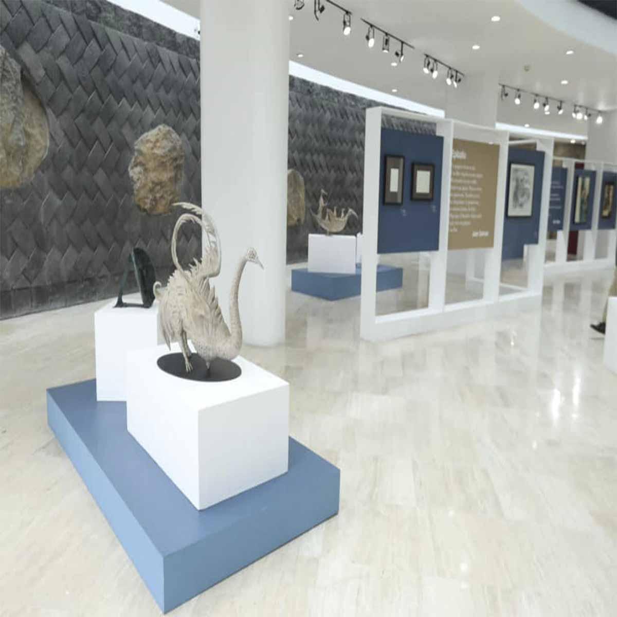 Inauguran exposición de obras artísticas en Toluca
