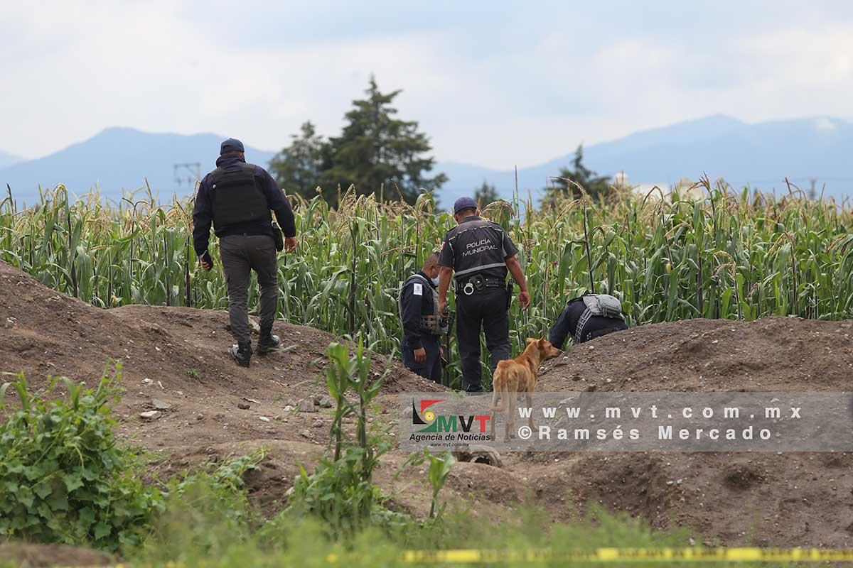 Niños encuentran el cuerpo de un hombre en Pueblo Nuevo, San Pablo Autopan