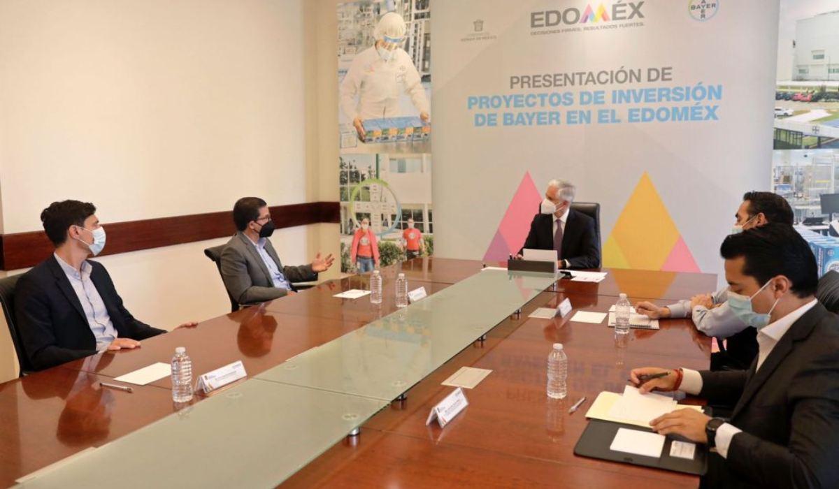 Gobernador del Edomex anuncia inversión de mil mdp en la planta Bayern de Lerma