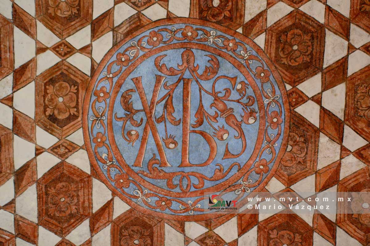Fresco en el Templo Agustino de la Transfiguración