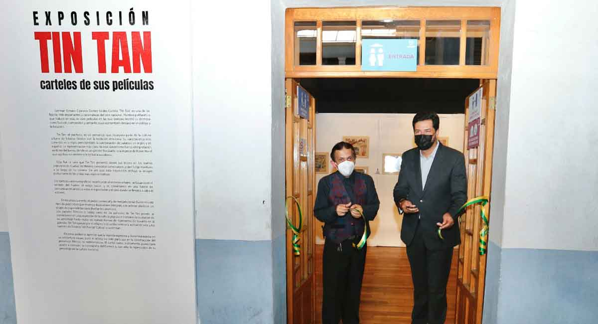 Tin Tan llega en exposición de UAEM en carteles filmográficos