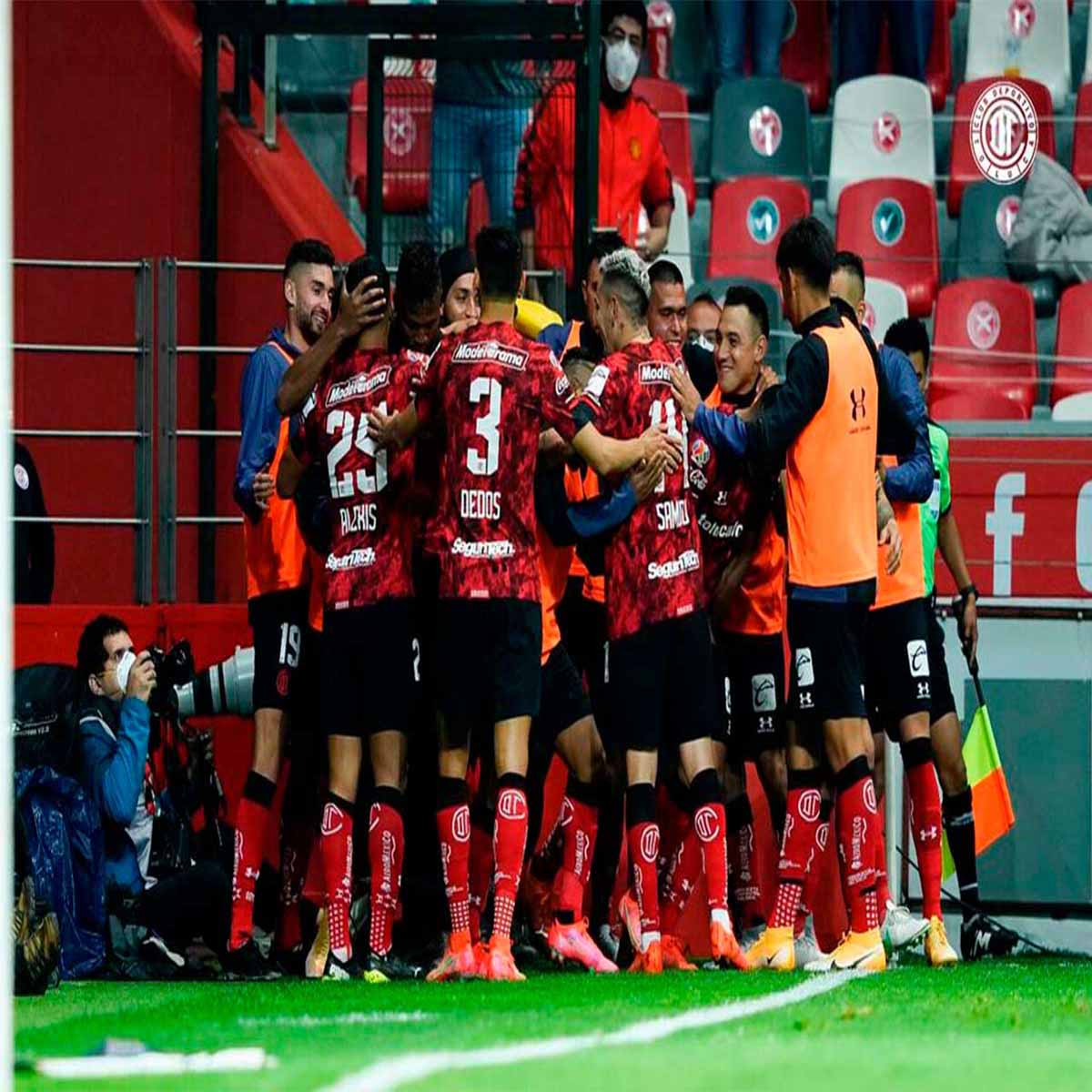 Toluca recibe a Mazatlán en duelo de media semana de la Liga MX