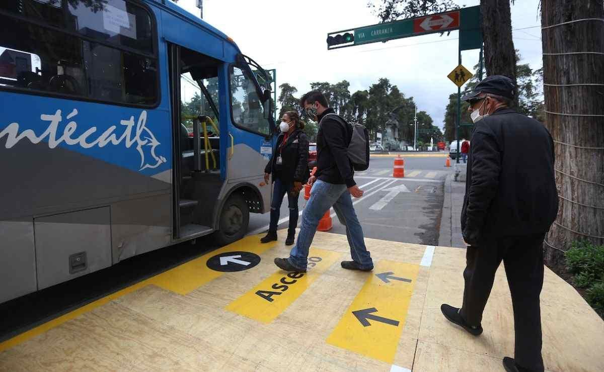 la empresa Xinantécatl abre una convocatoria para reclutar tanto a hombres como mujeres para ser conductores del transporte público en el Valle de Toluca