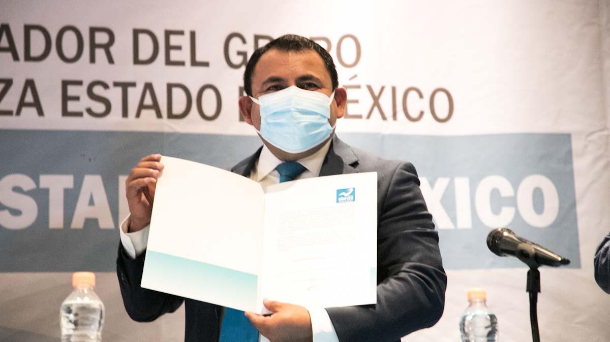 Rigoberto Vargas Cervantes es coordinador del grupo parlamentario de Nueva Alianza