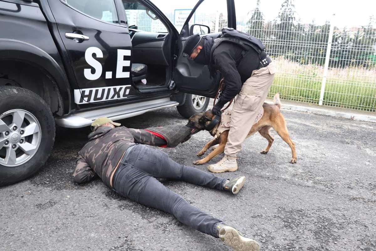 Huixquilucan tiene una de las Unidades Caninas más grandes del Edoméx